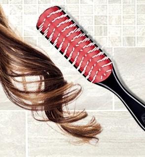Borstel voor Krullend Haar