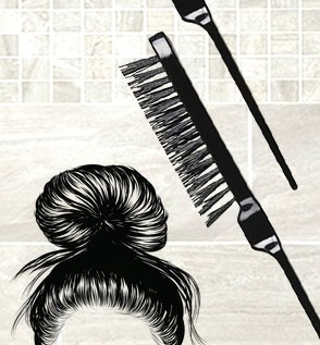 Backcombing Brush
