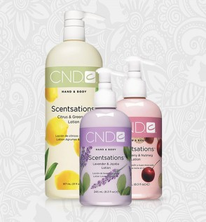 CND Hand & Body Lotions