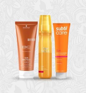 Haarverzorging in de Zon
