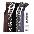 Popband - Animal Haarband - 5 Stuks