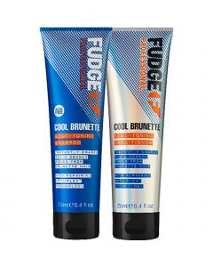 Fudge - Cool Brunette - Blue Toning - Shampoo en Conditioner - 2x250 ml