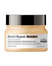 L'Oréal Professionnel- Série Expert - Absolut Repair Golden Mask - Haarmasker voor Beschadigd Dun Haar
