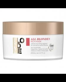 Schwarzkopf - Blond Me - All Blondes - Rich Mask - 200 ml