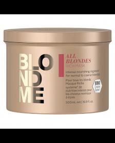 Schwarzkopf - Blond Me - All Blondes - Rich Mask - 500 ml