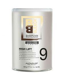 Alfaparf - BB Bleach - High Lift - Bleaching Powder 9 Levels of Lift - 400 gr