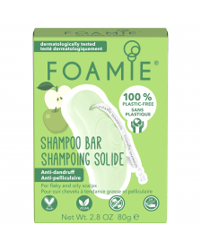 Foamie - Shampoo Bar - An Apple A Day - 80 gr