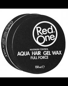 Red One - Black - Aqua Hair Gel Wax - Full Force - 150 ml