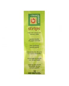 Clean and Easy - Harsstrips - Papier - Large - 100 Stuks
