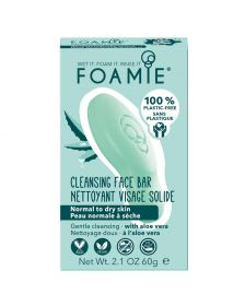 Foamie - Cleansing Face Bar - Aloe You Vera Much - 60 gr