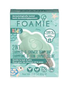 Foamie - Kids - 2-In-1 - Turtely Cool - 80 gr