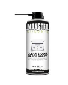 Monster Clippers - Clean & Cool Blade Spray - 400 ml