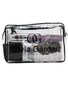 Olivia Garden - Kit 3x Charm Cape + 1x Charm Apron - Black