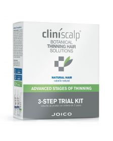 Joico - CliniScalp - 3 Step Trial Kit for Advanced Stages - Natural Hair - 250 ml