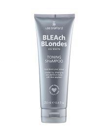 Lee Stafford - Bleach Blondes - Ice White - Shampoo voor Platinum Blond Haar - 250 ml