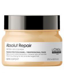 L'Oréal Professionnel - Série Expert - Absolut Repair Mask - Haarmasker voor Beschadigd Dik Haar