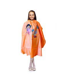Nebur - Kinderkapmantel Dora Oranje