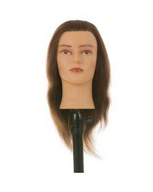 Heads-Up - Kappershoofd Connie - Bruin Haar - 30 cm