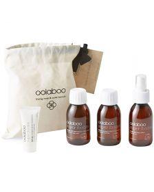 Oolaboo - Super Foodies - Luggage Lovers (Incl. Damage Free Shampoo, Reparative Treatment, Salt Spray + Toothpaste)