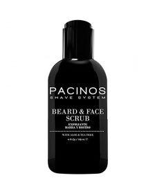Pacinos - Beard & Face Scrub - With Aloë Vera & Tea Tree - 118 ml