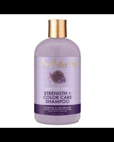 Shea Moisture - Strength & Color Care - Shampoo - 384 ml