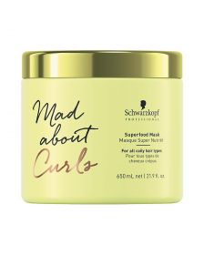 Schwarzkopf - Mad About Curls - Superfood - Mask - 650 ml