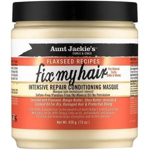 Aunt Jackie's - Flaxseed Fix My Hair Masque - 426 gr
