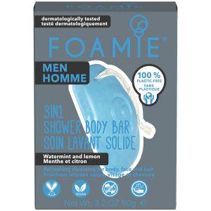 Foamie - Men - 3-In-1 Bar - Ocean Breeze - 90 gr