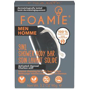 Foamie - Men - 3-In-1 Bar - Charchoal - 90 gr