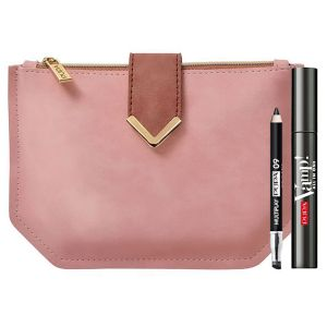 Pupa Vamp! Mascara All-In One & Multiplay & Luxe Pouch Kit