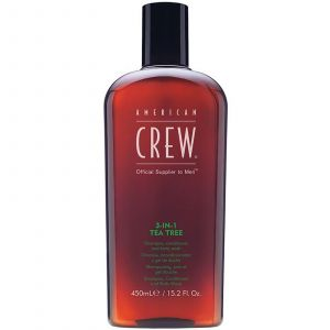American Crew - 3-In-1 Tea Tree - 450 ml