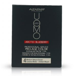 Alfaparf - Uomo - Pro-Age Color Gel - 4 Medium Natural Brown - 3x50 ml