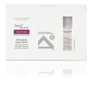 Alfaparf - Semi Di Lino - Scalp Care - Stimulating Super Serum - 12x10 ml