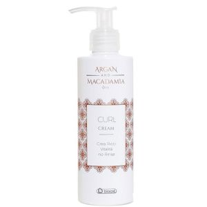 Biacre - Argan & Macadamia - Oil Curl Cream - 200 ml