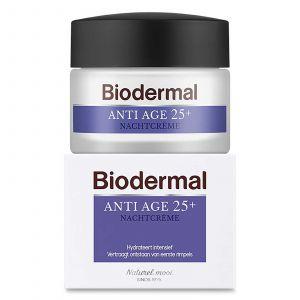Biodermal - Anti Age Nachtcrème 25+ - 50 ml