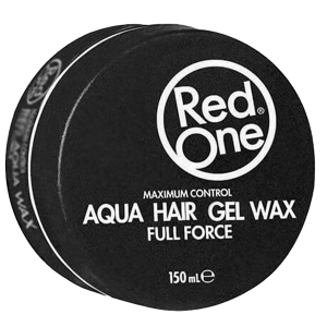 Red One - Black - Aqua Hair Gel Wax - Full Force - 150 ml