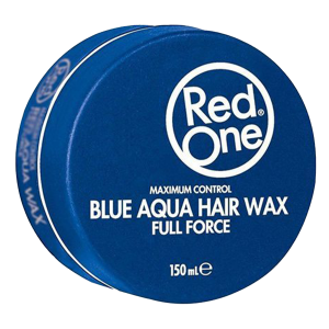 Red One - Blue - Aqua Hair Wax - Full Force - 150 ml