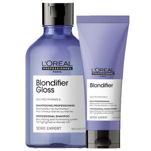 L'Oréal - Série Expert - Blondifier Gloss - Voordeelset voor glanzend blond haar