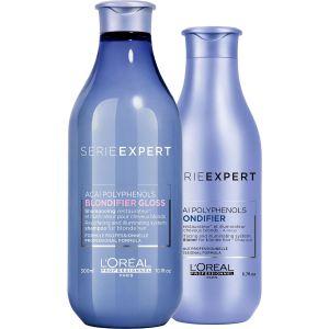 L'Oréal - Série Expert - Blondifier - Voordeelset voor glanzend blond haar