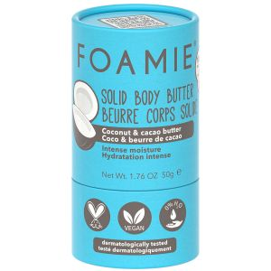 Foamie - Solid Body Butter - Shake Your Coconuts - 50 gr