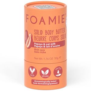 Foamie - Solid Body Butter - Oat To Be Smooth - 50 gr