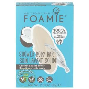 Foamie - 2-In-1 Body Bar - Shake Your Coconuts - 80 gr