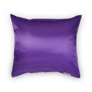 Beauty Pillow - Satijnen Kussensloop - Aubergine - 60x70 cm
