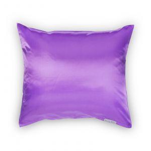 Beauty Pillow - Satijnen Kussensloop - Paars - 60x70 cm