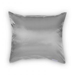 Beauty Pillow - Satijnen Kussensloop - Zilver - 60x70 cm