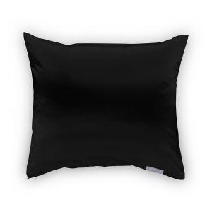 Beauty Pillow - Satijnen Kussensloop - Zwart - 60x70 cm