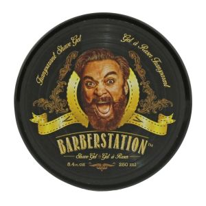 Barberstation - Transparant Shave Gel - 250 ml