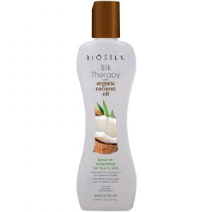 Biosilk Silk Therapy Coconut Oil Leave-In Treatment
