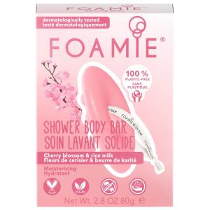 Foamie - 2-In-1 Body Bar - Cherry Kiss - 80 gr