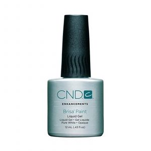 CND - Enhancements - Brisa - White Gel Paint - 12 ml